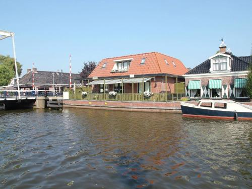 . Unique Holiday Home in Lemsterland with Terrace