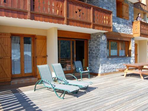 Plush Apartment in Champagny-en-Vanoise with Balcony - Le Villard