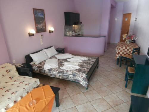 Studio (3 adulţi), cu vedere la mare (Studio (3 Adults) with Sea View)
