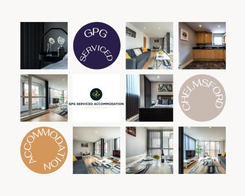. 2 Bedroom Apartment at GPG Serviced Accommodation Essex - Executive City Centre Apartment