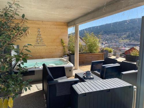 AU NID COSY D'ISA A GERARDMER VOSGES - Spas privatifs - Hotel - Gérardmer