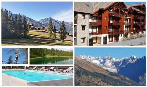 Le Skisun Cosy appart La Dame Blanche - Location saisonnière - Puy-Saint-Vincent