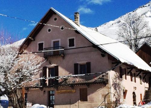 appartement edlweiss la maison d'augustin 73530 ST JEAN D'ARVES ,1 lit double,2lits simples - Apartment - St Jean d'Arves
