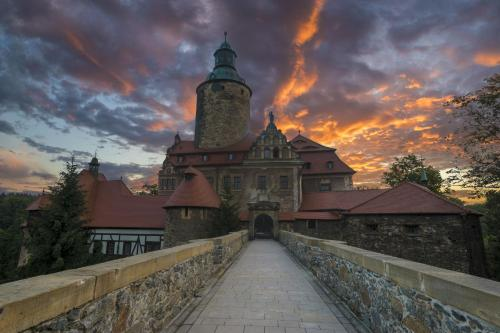 Kasteel-overnachting met je hond in Zamek Czocha - Leśna