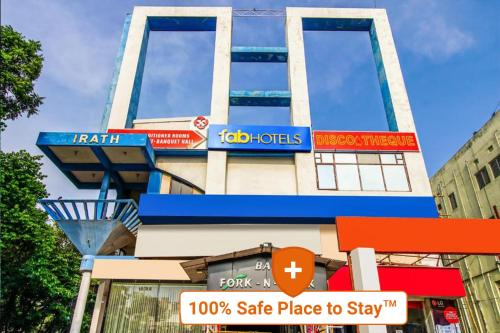 . FabHotel Palash Residency Ranchi Railway Station - Fully Vaccinated Staff