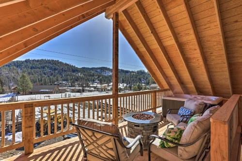 Garden Valley Apartment with Hot Tub and Mtn Views! - Crouch