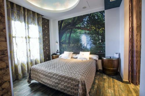 Habitación Doble - 1 o 2 camas - Uso individual Hotel SPA Bodega El Lagar de Isilla 18