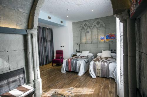 Habitación Doble - 1 o 2 camas - Uso individual Hotel SPA Bodega El Lagar de Isilla 13