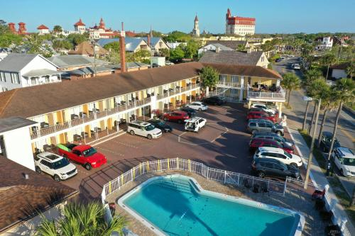 Historic Waterfront Marion Motor Lodge in downtown St Augustine, Saint Johns