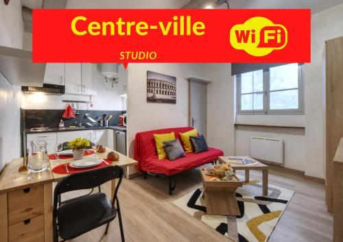 Joli studio calme plein centre-ville historique de Nîmes - Location saisonnière - Nîmes