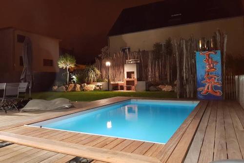 La Villa Thelma : Location 5 étoiles avec piscine - Location, gîte - Granville