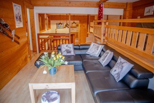 Le Mont Blanc (Gite Des Alpes) - Apartment - La Giettaz en Aravis