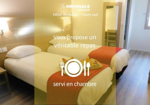 The Originals City, Hôtel Ambacia, Tours Sud - Hôtel - Saint-Avertin
