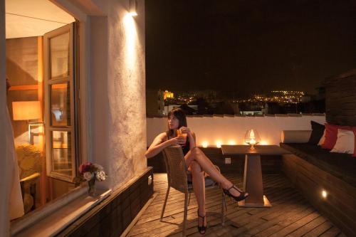 Deluxe Double Room with Terrace Villa Oniria 1
