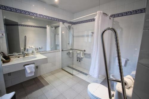 Doppel- oder Zweibettzimmer Hotel Los Caspios 11