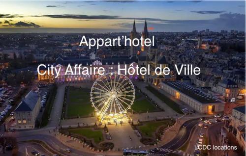 City Affaire : Hotel de Ville - Hôtel - Caen