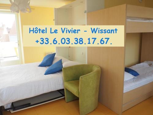 . Hôtel Le Vivier WISSANT - Centre Village - Côte d'Opale - Baie de Wissant - 2CAPS