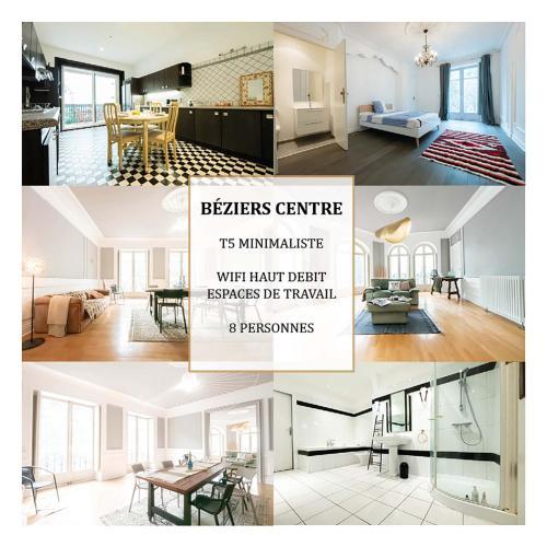 T5 – Minimalisme & Elégance – La Conciergerie Martinkey's - Location saisonnière - Béziers