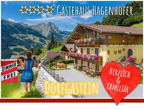 Gästehaus Hagenhofer - Apartment - Dorfgastein