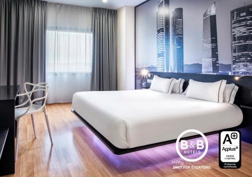 . B&B Hotel Madrid Aeropuerto T4