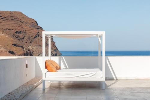 Deluxe Double Room with Balcony and Sea View Hotel Spa Calagrande Cabo de Gata 11