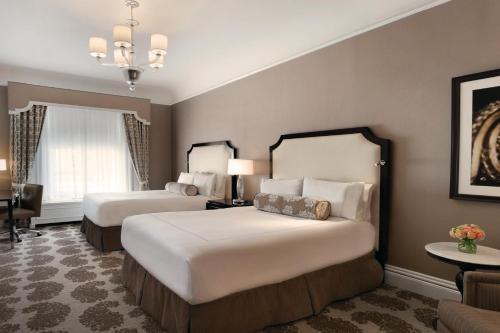 Fairmont San Francisco Номер Делюкс с 2 кроватями размера