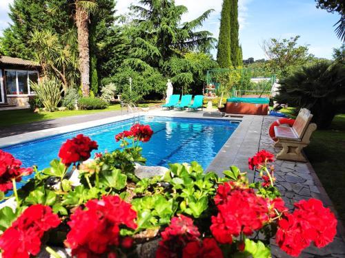 Chalet cerca de Logroño Villa Mayve - Accommodation - Albelda de Iregua