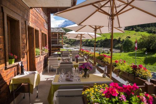 Hotel Nest- und Bietschhorn - Accommodation - Blatten im Lötschental
