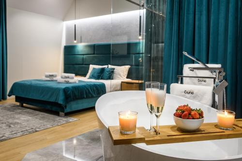 . Pokoje, Noclegi, Apartamenty Dune Resort Łeba