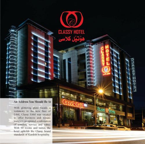 . Classy Hotel Erbil