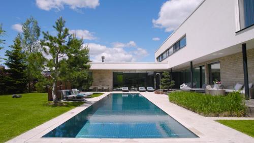 Luxus Ferienhaus mit Pool - Kärnten - Accommodation - Spittal an der Drau