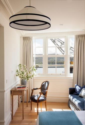 Deluxe Double Room with River View Gran hotel Brillante 2