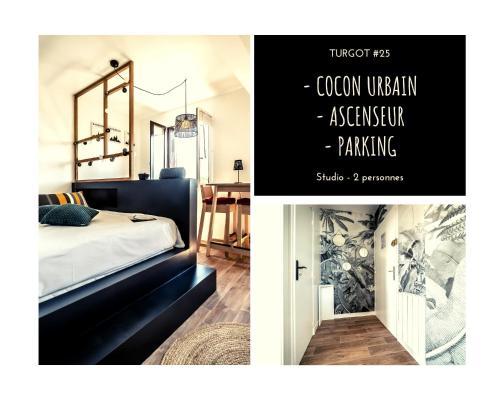 TURGOT #25 - Cocon urbain - 1 Chambre - Location saisonnière - Brive-la-Gaillarde