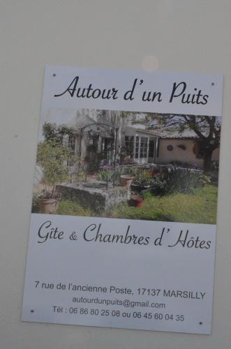 Autour d'un puits, Gîte 4/5 personnes - Chambre d'hôtes - Marsilly
