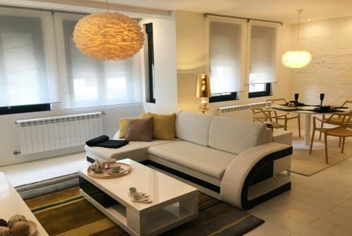 . Golden & White Home