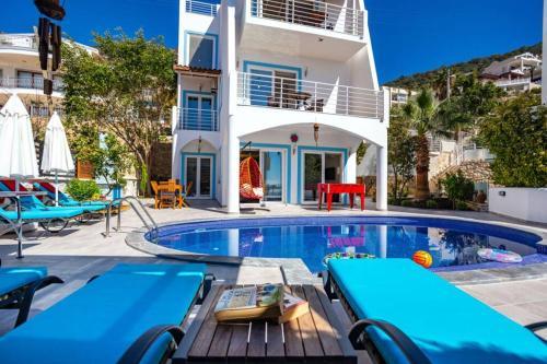 Kalkan merkezde deniz manzaral? müstakil villa Villa lotus - Accommodation - Kas