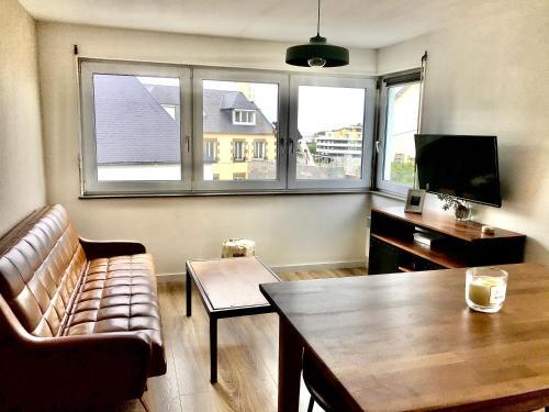 Bel appartement à 100m de la plage et du centre - Location saisonnière - Granville
