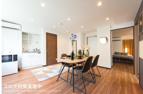 山手线车站3分 上野浅草商圈 70m2两室一厅精致套房 中里C