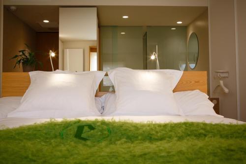 Habitación Doble Superior con vistas al jardín - 2 camas Echaurren Hotel Gastronómico 1