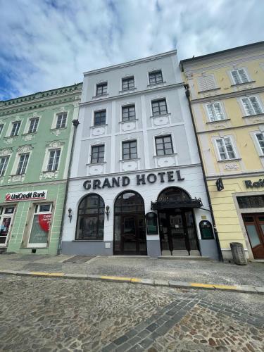 Turistické apartmány Grand Hostel Jindřichův Hradec