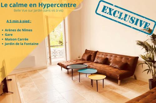 Insula I - Appartement Arenes Centre-ville - Location saisonnière - Nîmes