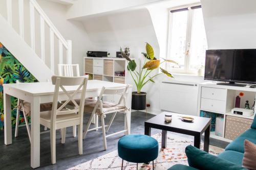 Beautiful apartment with mezzanine - Location saisonnière - Paris