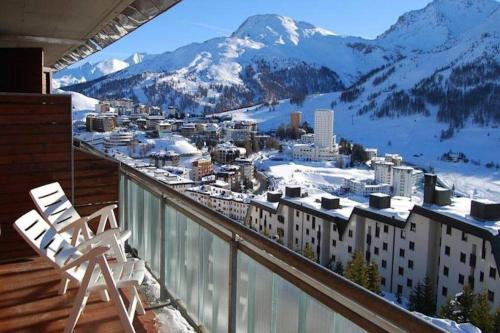 Apartment in a 4 * residence with sauna, miniclub - Sestrière