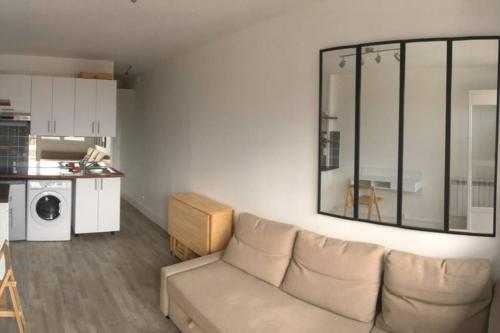 Studio Calme - Balcon Sud - Direct Metro - Location saisonnière - Montreuil