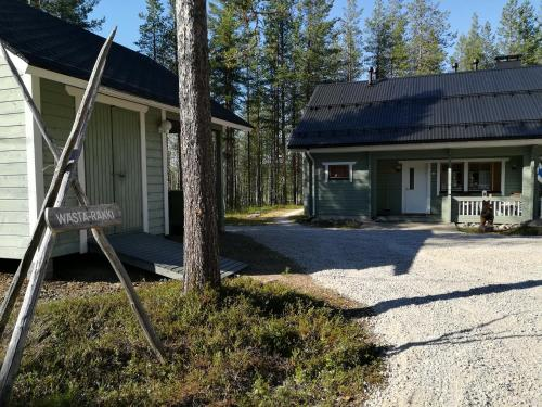 Accommodation in Luosto