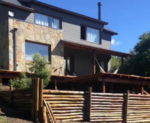 Casa de montaña con vistas panorámicas en Los riscos - Chalet - San Martín de los Andes