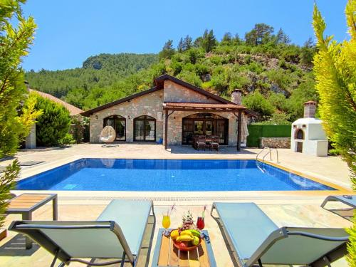 Villa Kayakoy 1 - Private Stone Villa - Accommodation - Fethiye