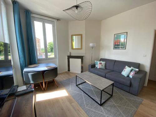 Appartement cosy à deux pas du centre ville - Location saisonnière - Montauban