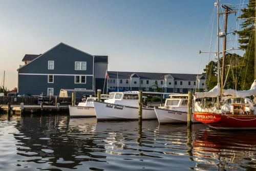 St Michaels Harbour Inn Marina And Spa