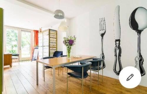. Studio Zaagmolen, Superb stylish apartment, 65m2 with private garden, close to city centre
